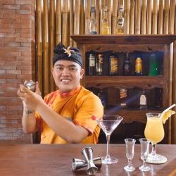 Bar restaurant Ubud resort